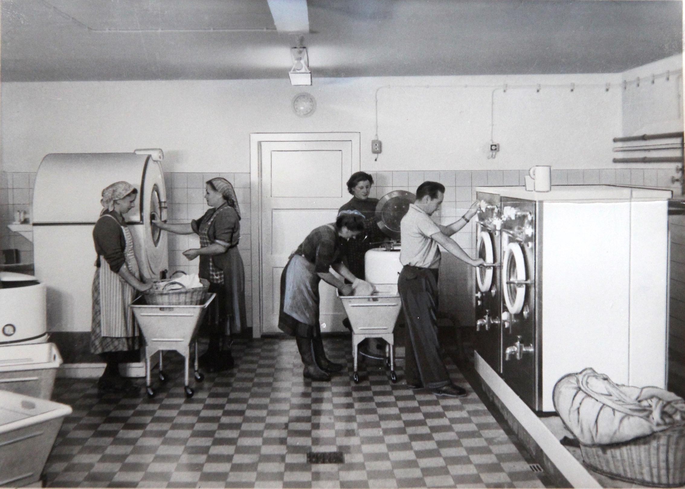 Waschküche die waschküche im gemeinschaftshaus um 1956 geschichte n aus